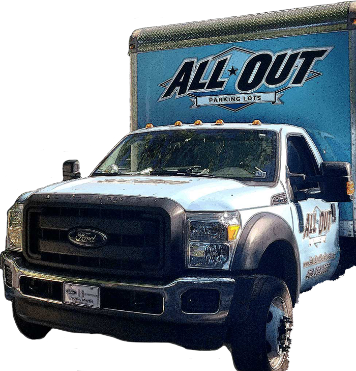 All Out Parking Lots Truck